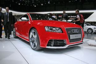 Salon : Audi RS5 Coupé au Salon de Genève 2010