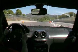 Vidéo embarquée en Ferrari 599 GTO