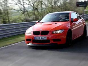 BMW M3 GTS sur le Nürburgring
