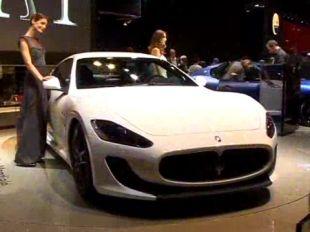 Salon : Maserati GranTurismo MC Stradale
