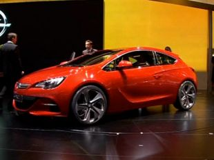Salon : Opel GTC Paris