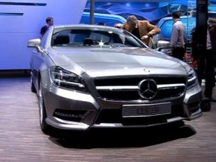 Salon : Mercedes CLS au Mondial de l'Automobile 2010