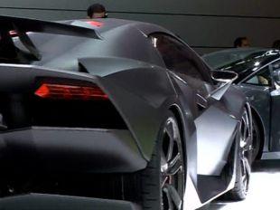 Salon : Lamborghini Sesto Elemento
