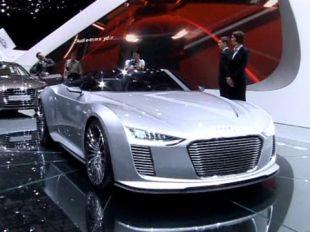 Salon : Audi e-Tron Spyder