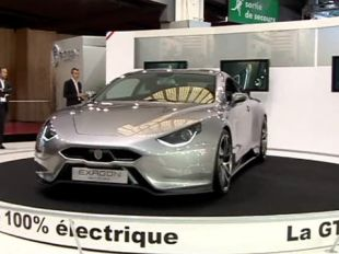 Vidéo Bentley Continental GT au Mondial de l'Automobile 2010 - Mondial automobile de Paris 2010