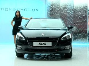 Salon : Peugeot 508 au Mondial de l'Automobile 2010
