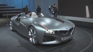 Salon : BMW Vision Connected Drive