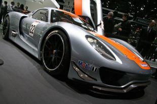 Salon : Porsche 918 RSR