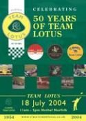 Les 50 ans du Team Lotus
