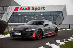 L'Audi e-tron GT entre en production
