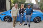 Sylvester Stallone prend possession de sa Corvette C8 cabriolet
