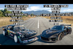 Drag Race : Ford Mustang Hoonicorn V2 vs McLaren Senna Merlin