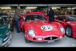 Nick Mason présente sa Ferrari 250 GTO à Brian Johnson