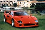 Un one-off inspiré de la Ferrari F40 en préparation ?