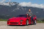 La Ferrari F40 de Gerhard Berger en vente chez RM Sotheby