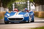 Ferrari : un plateau de 6 290 chevaux à Goodwood