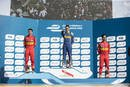 Podium du Berlin ePrix 2016
