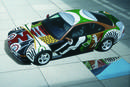 BMW 850CSi Art Car 1995 par David Hockney
