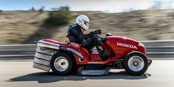 La tondeuse Honda Mad Mower entre dans le livre des records