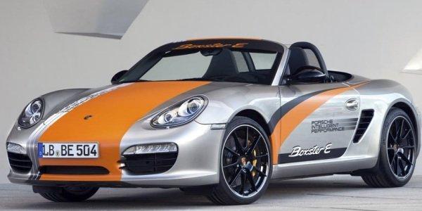 Porsche intéressé par la propulsion électrique