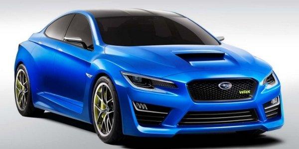 Subaru WRX Concept : musclée !