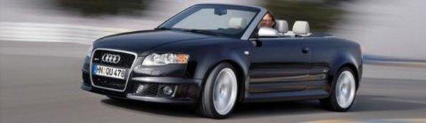 Nouvelle Audi RS4 Cabriolet