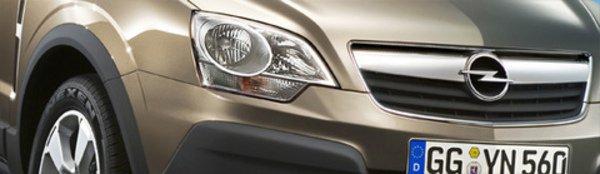 Opel Antara : Banalisé