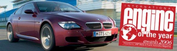 Le V10 BMW élu moteur de l'année 2006