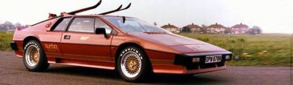La Lotus Esprit de James Bond à vendre !