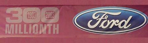 Ford vient de produire son 300 millionième véhicule.