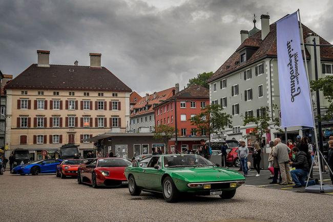 Beau succès pour le premier Lamborghini Concours d'Élégance