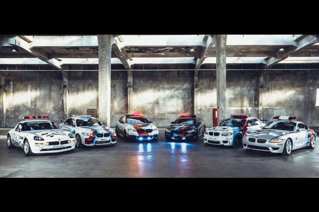 20 ans de BMW Safety-cars en MotoGP