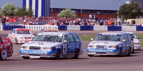 Il y a 20 ans : un break Volvo en BTCC