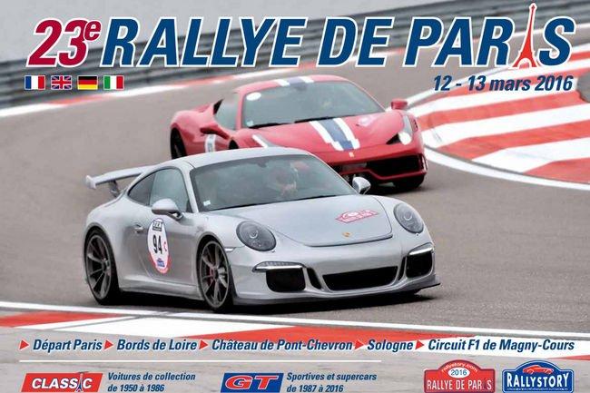23ème édition du Rallye de Paris