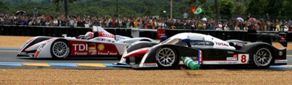 Le Mans : Audi gagne, Peugeot convainc