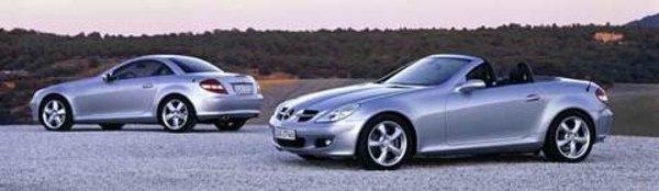 La nouvelle Mercedes SLK