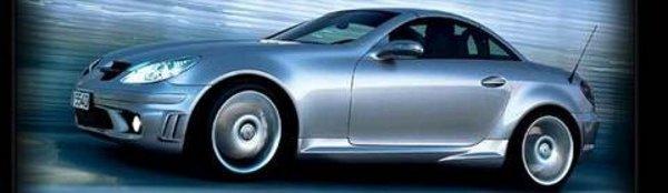 La Mercedes SLK AMG