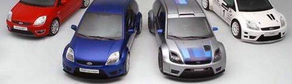 Genève : Ford Fiesta ST et SR concept