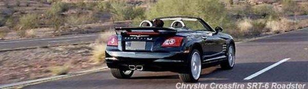 Genève : Chrysler Crossfire cabriolet