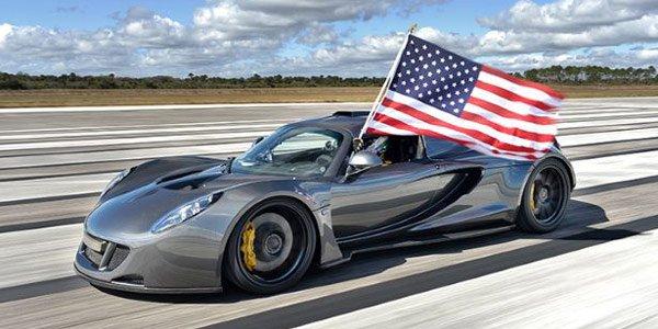 Record de vitesse pour la Venom GT !