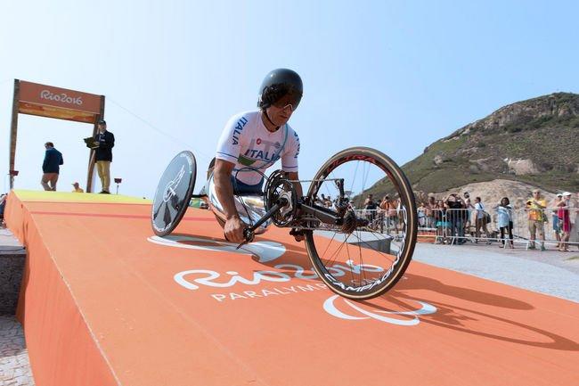 4ème médaille olympique pour Alex Zanardi