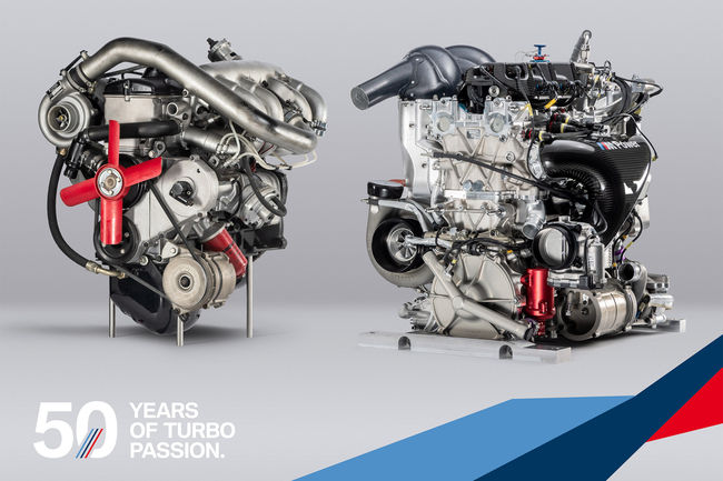 BMW Motorsport : un demi-siècle de moteurs turbocompressés