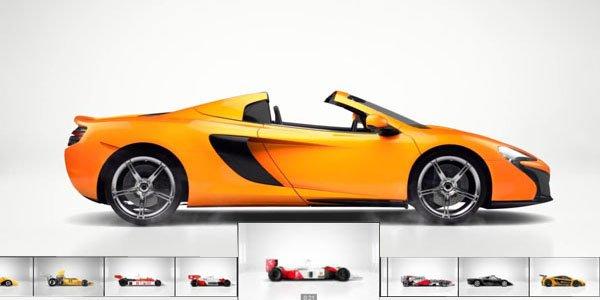 Cinquante ans de McLaren en 40 secondes