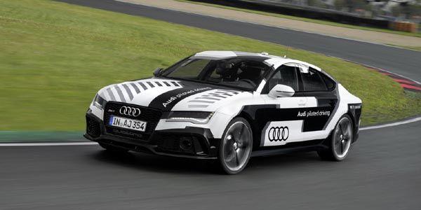 560 ch pour l'Audi RS7 piloted driving concept