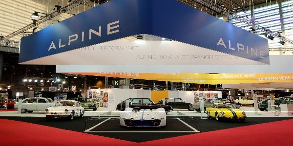 alpine f te ses 60 ans au salon r tromobile 2015 actualit automobile motorlegend. Black Bedroom Furniture Sets. Home Design Ideas