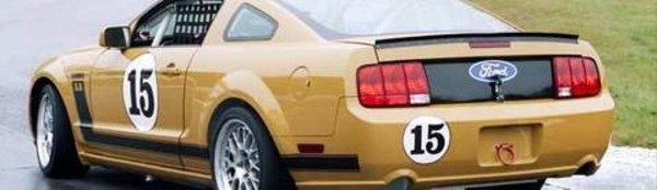 Une version compétition de la Mustang