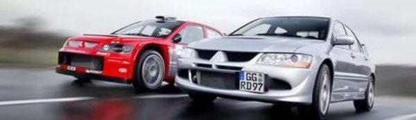 Mitsubishi Lancer Evo VIII : sportive de l'année