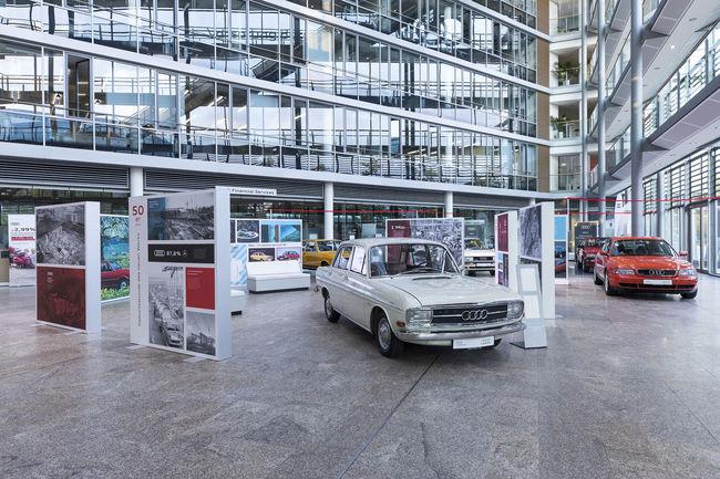 Audi et Ingolstadt : 70 ans d'histoire