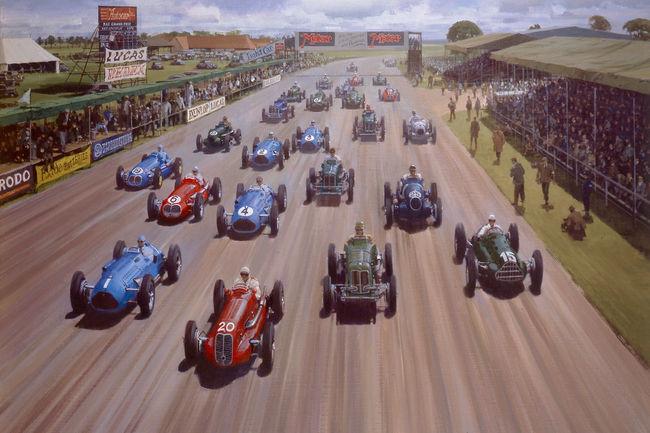 Silverstone Classic fêtera les 70 ans du GP de Silverstone