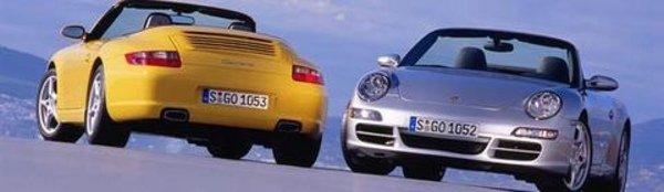 Porsche 911 Cabriolet à Detroit